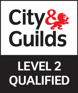 City & Guilds Level 2 qualified