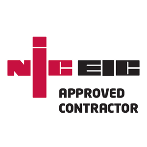 NICEIC approved contractor qualified